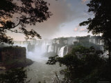 Iguacu Falls, Viewed from the Argentina Side Fotoprint van James P. Blair