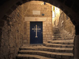 Old City Doors and Alleys of Old Jaffe in Tel Aviv, Israel Photographic Print by Richard Nowitz