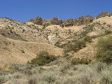 Razorback Ridge in the San Emigdio Mountains, California Photographic Print by Rich Reid