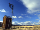 Historic Windmill in Mountain Valley Photographic Print by Kate Thompson