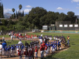 Little League Opening Day Celebration in Oak View, California Photographic Print by Rich Reid