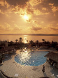 Royal Suite in the Dead Sea Spa Hotel Overlooking the Dead Sea in Jordan Photographic Print by Richard Nowitz
