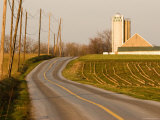 Farm in Lancaster County, Pennsylvania Photographic Print by Tim Laman