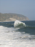 Dancing Wave Formation in Malibu California Photographic Print by James Forte