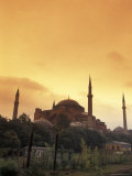 Saint Sophia at Sunset, Istanbul, Turkey Photographic Print by Richard Nowitz
