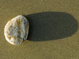Round Rock and Shadow on Sand Dollar Beach, California Photographic Print by Rich Reid