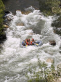 Rafting on the Upper Kern River, Sequoia National Forest, California Fotografisk tryk af Rich Reid