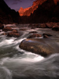 Granite Falls at Sunset in the Grand Canyon, Colorado Photographic Print by Kate Thompson