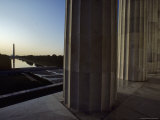 Reflecting Pool and Washington Monument Seen from Lincoln Memorial, Washington, D.C. Photographic Print by Kenneth Garrett