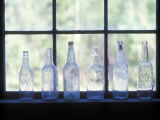Old Bottles in Mccarthy Museum in Wrangell-Saint Elias, Alaska Photographic Print by Rich Reid