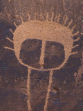 Petroglyph Closeup, Utah Photographic Print by Rich Reid