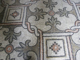 Mosaic Floor in the Bascilica di Sant'Apollinare Nuovo, Ravenna, Italy Photographic Print by Gina Martin