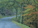 Road in the Blue Ridge Mountains, Virginia Photographic Print by Kenneth Garrett