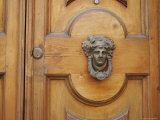 Ornate Door Knocker, Ravenna, Italy Photographic Print by Gina Martin