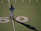 Referee on On the 50-Yard Line, Virginia Fotografisk trykk av Kenneth Garrett