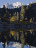 Mount Abbot Reflecting in Rock Creek Lake, California Photographic Print by Rich Reid