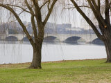 Memorial Bridge Crosses the Potomac in Washington, D.C. Photographic Print by Stacy Gold