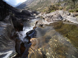 Rapids on an Andean Creek Photographic Print by David Evans