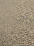Ocean Water Leaving Tracks on Sandy Beach, Cabo San Lucas, Mexico Photographic Print by Gina Martin