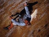Man Rock Climbing in Kenya, East Africa Photographic Print by Bobby Model