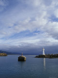 Lighthouse and Beacon at the Mariner Entrance to a Safe Port, Australia Photographic Print by Jason Edwards
