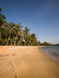 Quiet Ong Lang Beach is Unspoiled by Mango Bay Resort Photographic Print by Michael S. Lewis