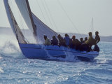 Sailboat Races in the Bahamas Photographic Print by Kenneth Garrett