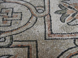 Mosaic Tile on the Floor of the Basilica di San Vitale, Ravenna, Italy Photographic Print by Gina Martin