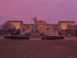 Philadelphia Art Museum at Dusk Photographic Print by Kenneth Garrett