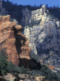 Red Rocks in Oak Creek Canyon at Slide Rock State Park Photographic Print by Rich Reid