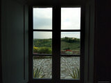 Looking Through the Window of a Tuscan Villa, Tuscany, Italy Photographic Print by Todd Gipstein