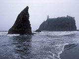 Ruby Beach and the Pacific Coast Photographic Print by Rich Reid