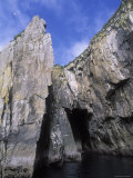 Rock Formations near Aialik Cape in Kenai Fjords National Park, Alaska Photographic Print by Rich Reid