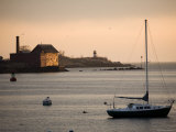 Sailboat Off Cape Anne, Massachusetts Photographic Print by Tim Laman