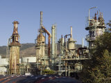 Retired Petrochem Refinery, Ventura, California Photographic Print by Rich Reid