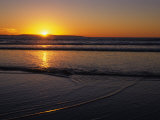 Sunset over the Pacific Ocean, Ventura, California Photographic Print by Stacy Gold