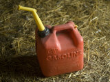 Plastic Gasoline Can at a Farm in Greenleaf, Kansas Photographic Print by Joel Sartore