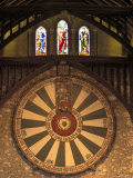 The Roundtable, Built During King Arthur's Reign, Hanging in the Great Hall in Winchester, England Photographic Print by Richard Nowitz