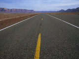 The Open Road near the Vermillion Cliffs in Northern Arizona Photographic Print by Bill Hatcher