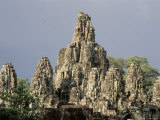 Temples of Angkor, Bayon, Siem Reap, Cambodia Photographic Print by Richard Nowitz