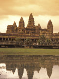 The Angkor Wat Temples in Siem Reap, Cambodia Photographic Print by Richard Nowitz