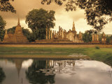 Sukhothai Historical Park in Sukhothai, Thailand Photographic Print by Richard Nowitz