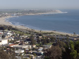 San Buenaventura State Beach and Ventura Harbor, California Photographic Print by Rich Reid