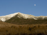 Scenic View of the White Mountains with the Moon Photographic Print by Tim Laman