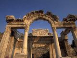 Temple of Hadrian in Ephesus, Turkey Photographic Print by Richard Nowitz