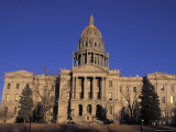 The State Capitol Building in Corinthian Style Built in 1968 in Denver, Colorado Photographic Print by Richard Nowitz