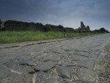 The Appain Way, An Ancient Roman Road, Rome, Italy Photographic Print by Richard Nowitz