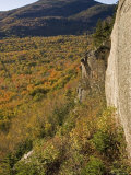 View from Atop Indianhead Mountain with Fall Colors Photographic Print by Tim Laman
