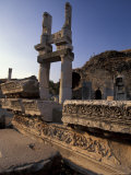 Temple of Domitian in Ephesus, Turkey Photographic Print by Richard Nowitz