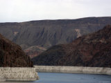 Part of Hoover Dam and Lake Mead Photographic Print by Stacy Gold